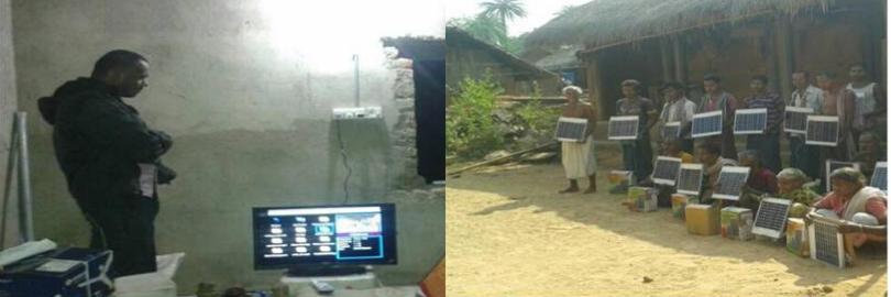 Energy in Tribal Village (Solar Home Lights)